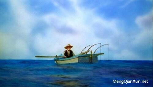 老人与海油画版_尼尔·波兹曼语录:人们感到痛苦的不是他们用笑声取代了思考 ...
